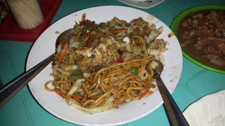 Pansit Cabagan and Igado