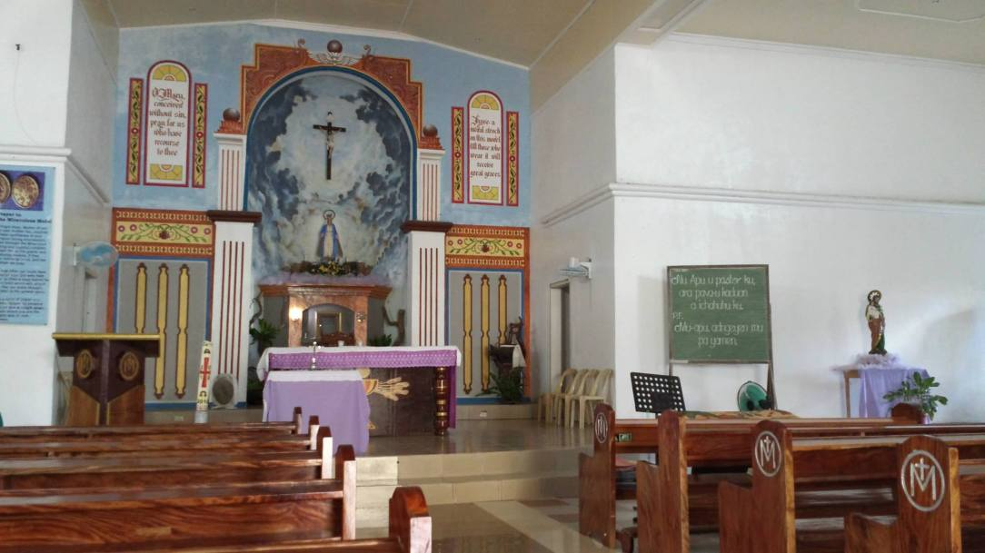 Our Lady of Miraculous Medal in Itbud