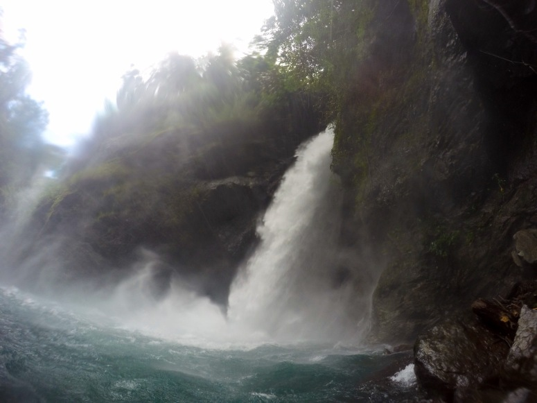 Mother falls side