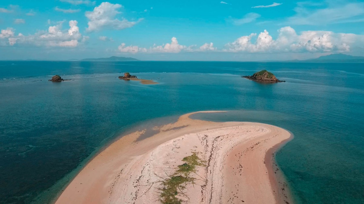 Parola Island's Unspoiled PinkSand